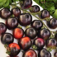 Помидоры черная гроздь