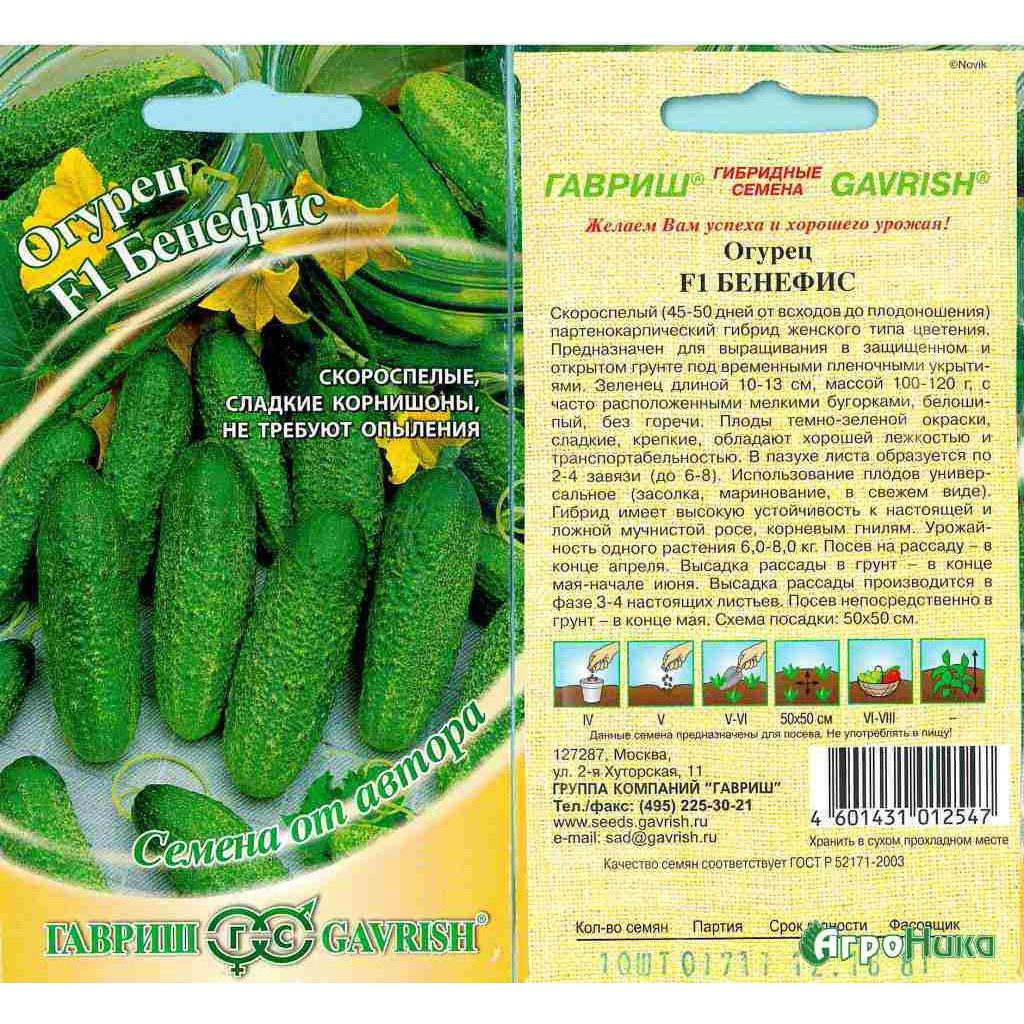 Огурцы семена лучшие самоопыляемые длительного плодоношения