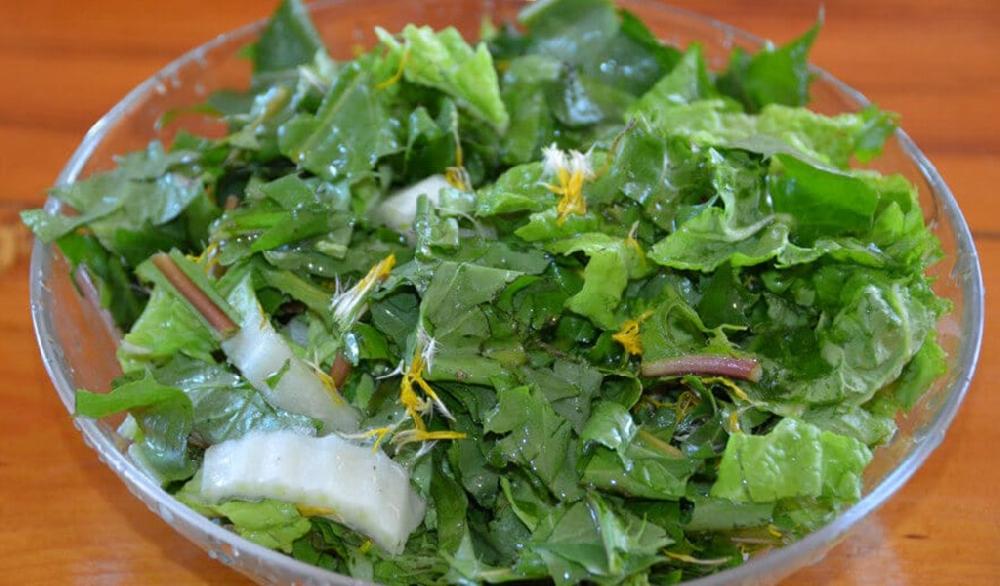 Лебеда дополнит любой овощной салат